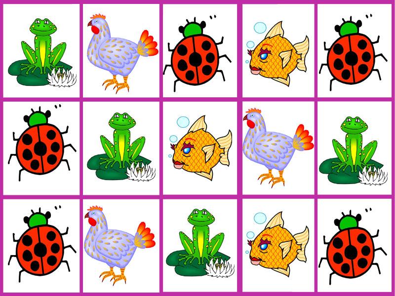 Карточки для занятия с детьми