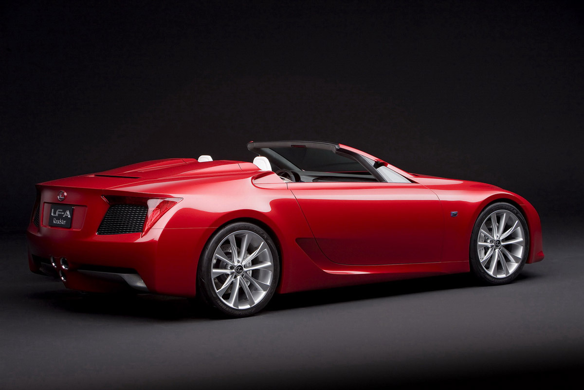 Lexus LFA GTE Race Car Spied -