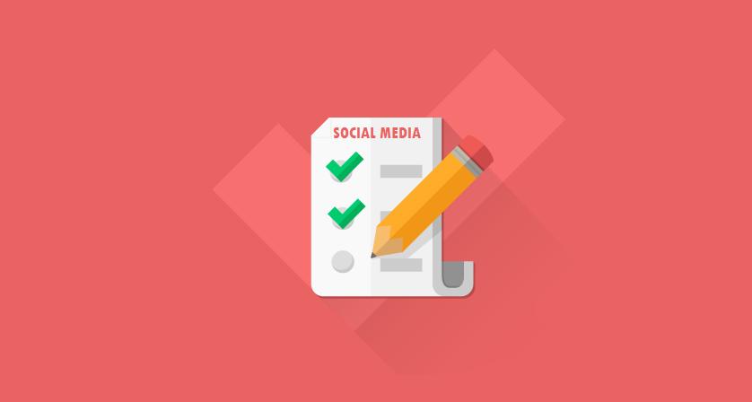 Facebook, GooglePlus, Twitter, LinkedIn, Pinterest, YouTube - #SocialMedia Checklist #infographic marketing for businesses
