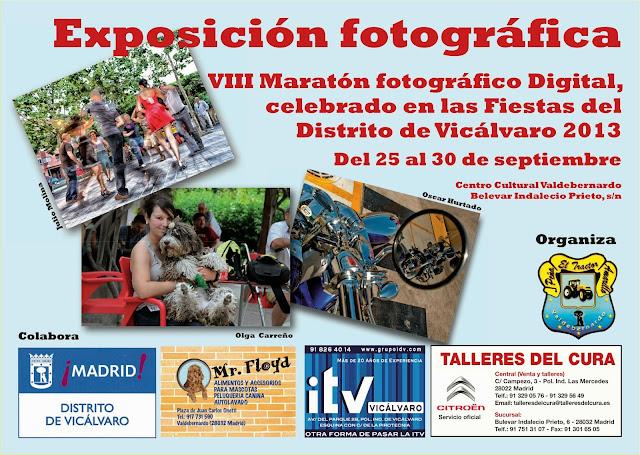 Expo fotografía en CC Valdebernardo, 25-30.09.13