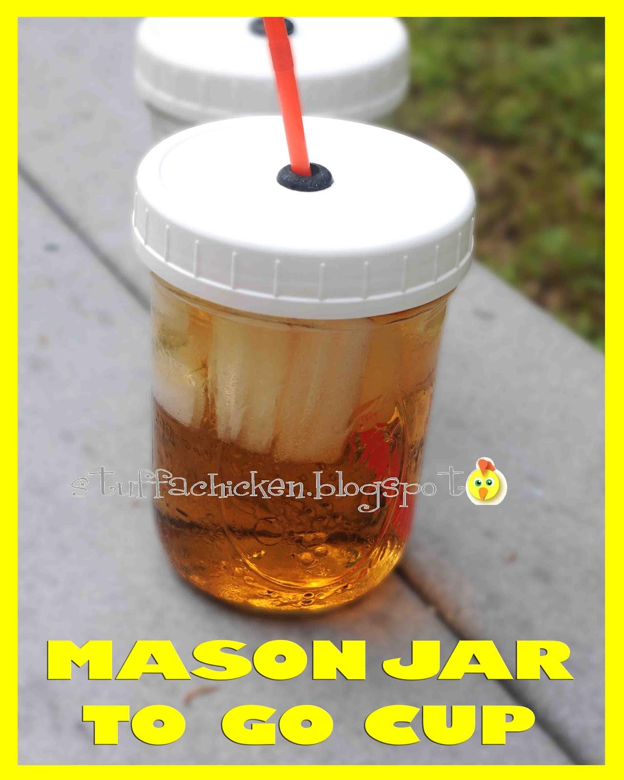 Mason Jar To-Go Cup