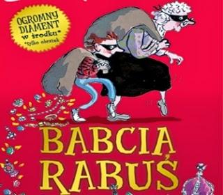 książka Babcia Rabuś