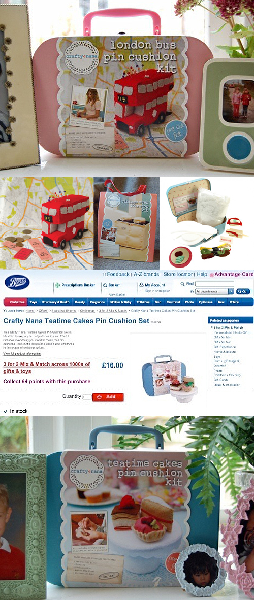 British Cream Tea: Crafty Nana Kits