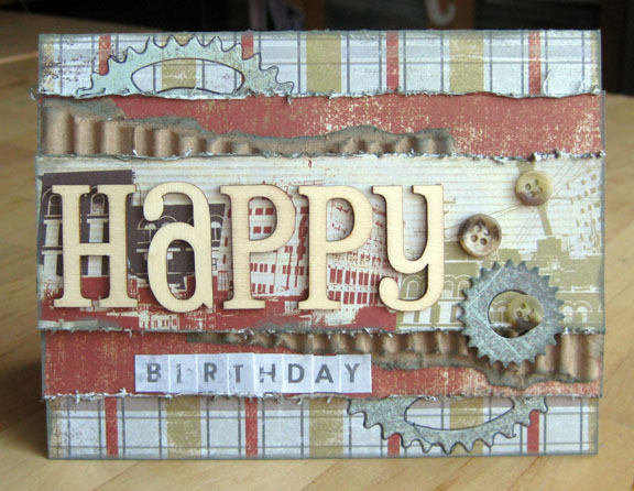 One Good Thing Birthday Card Boys Rule Scrapbook Kits