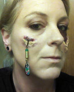 This halloween i 39 m hooked on make up for What fish has eyelids