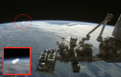 NASA Captures UFO In Front Of Space Station 2015, UFO Sightings