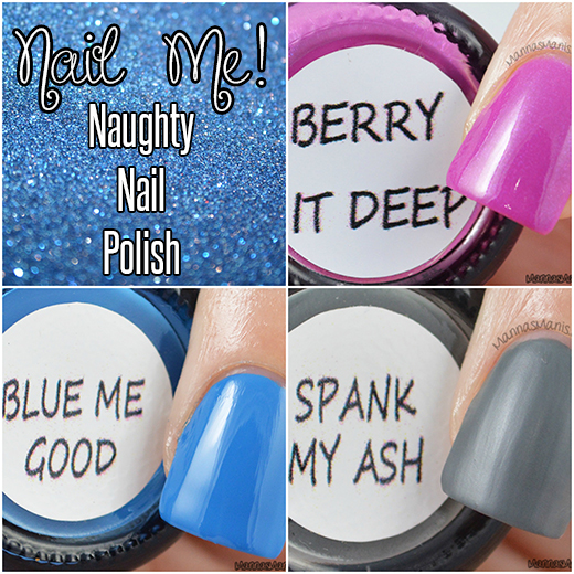 Nail Me! Naughty nail polish swatches