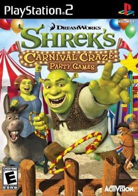 Shrek Tutti al Luna Park PS2