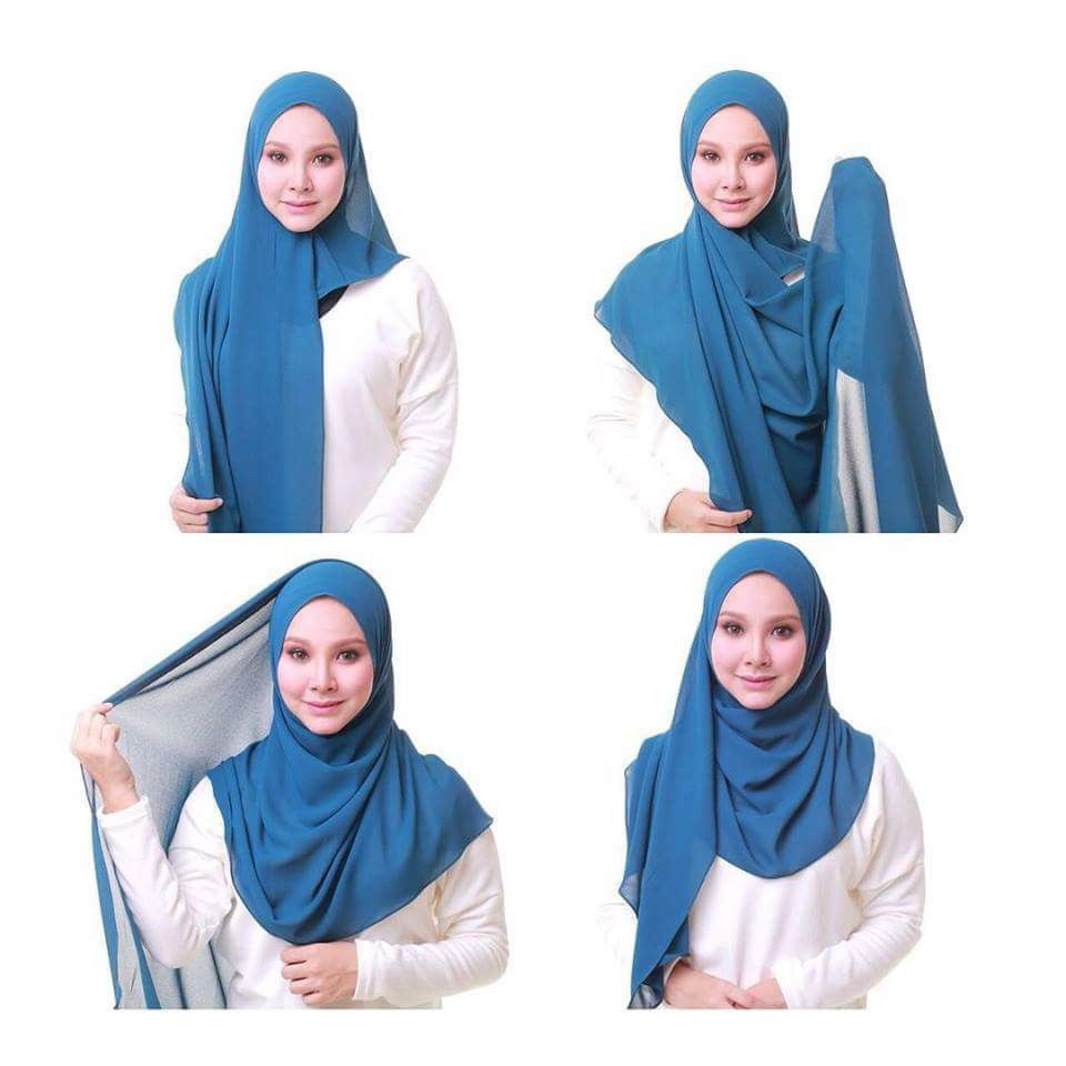 Tutorial Hijab Fashion Lengkap Terbaru Kumpulan Model Hijab Fashion