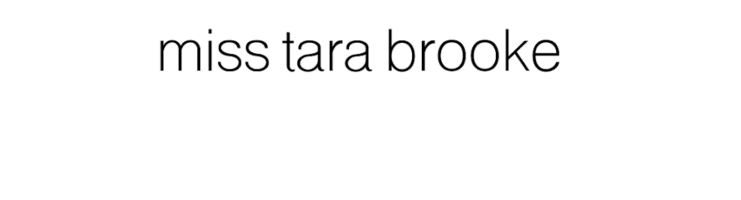 Miss Tara Brooke