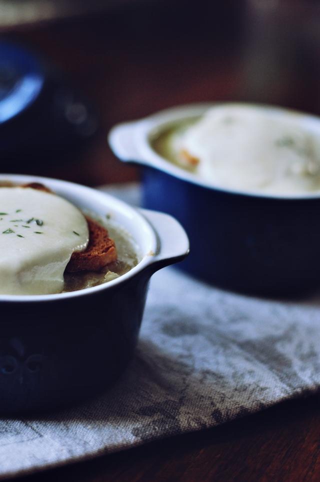 garda sīpolu zupa // savory onion soup