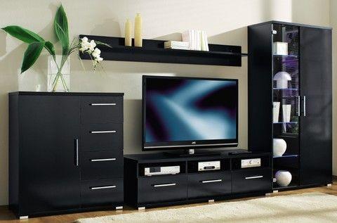 Tv wandkasten de televisie centraal in het wandmeubel for Tv wandkast