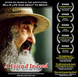 """A Friend Indeed - The Bill Sackter Story"" - Go to the Official Website"