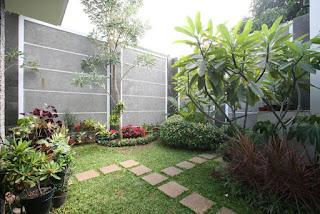 Desain Taman Belakang Rumah yang Sederhana dan Natural
