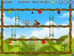 Khỉ đột lo lắng, game van phong