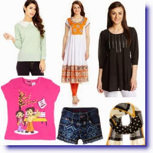 Amazon: Buy Women's & Baby Clothing upto 50% off + 25% off from Rs. 149 only