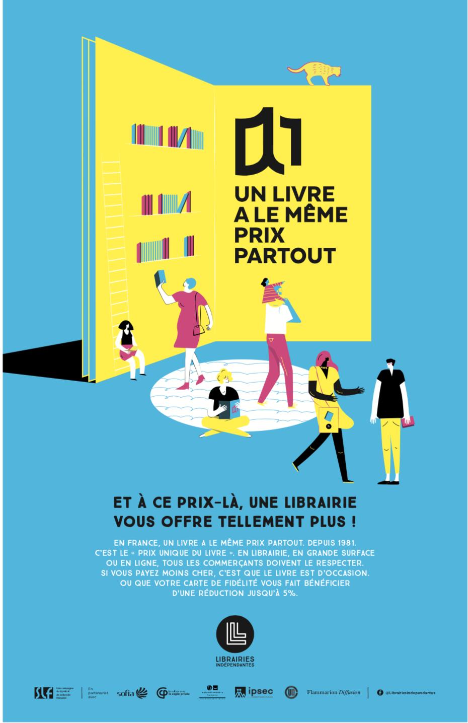 Achetez vos livres dans les librairies indépendantes !