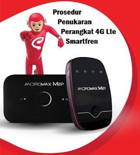 Prosedur Penukaran Perangkat Smartfren 4G Lte