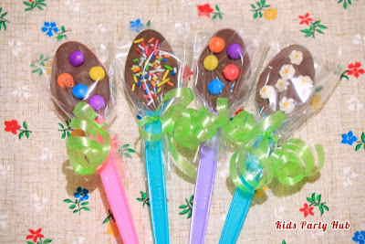 Chocolate Spoon Party Favors