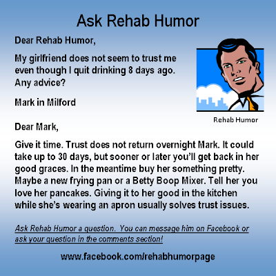 ask rehab humor