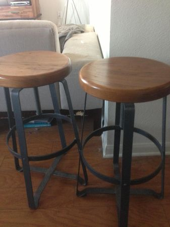 Bar stools - $150 : west elm industrial stool - islam-shia.org