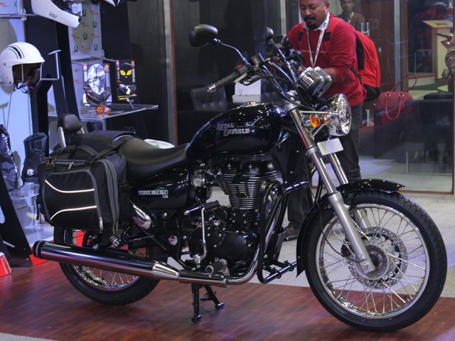 Royal Enfield will launch the much awaited Thunderbird 500 on the 11th of October in India. The 500cc version of the Thunderbird