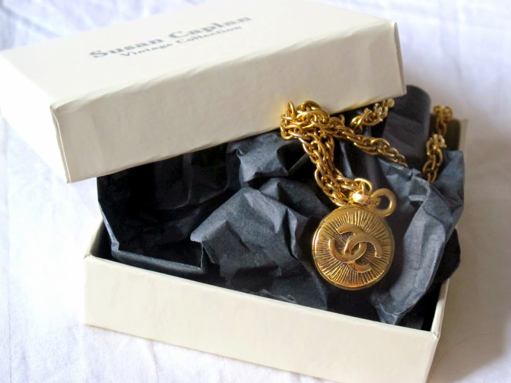 vintage Chanel necklace from Susan Caplan