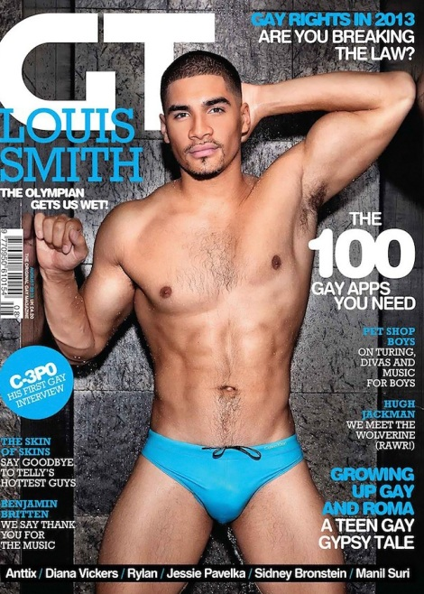 Louis Smith by Dylan Rosser for Gay Times magazine