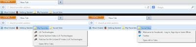 Multiple Bookmarks in differnet Folder