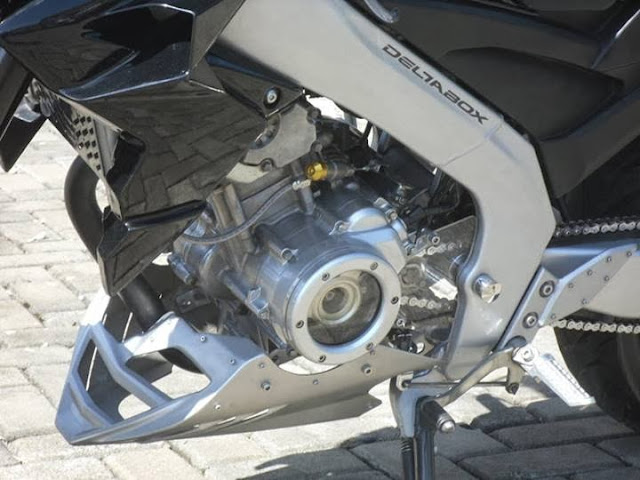 Yamaha Vixion Model American Streetfighter