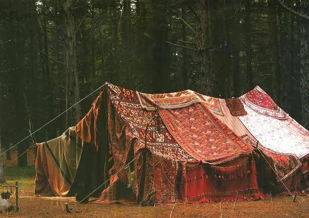 bohemian tent