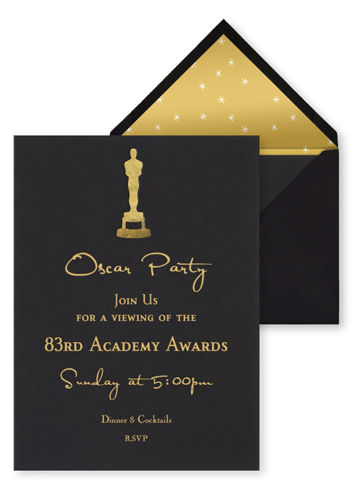 Oscar Party Invitations for your inspiration to make invitation template look beautiful