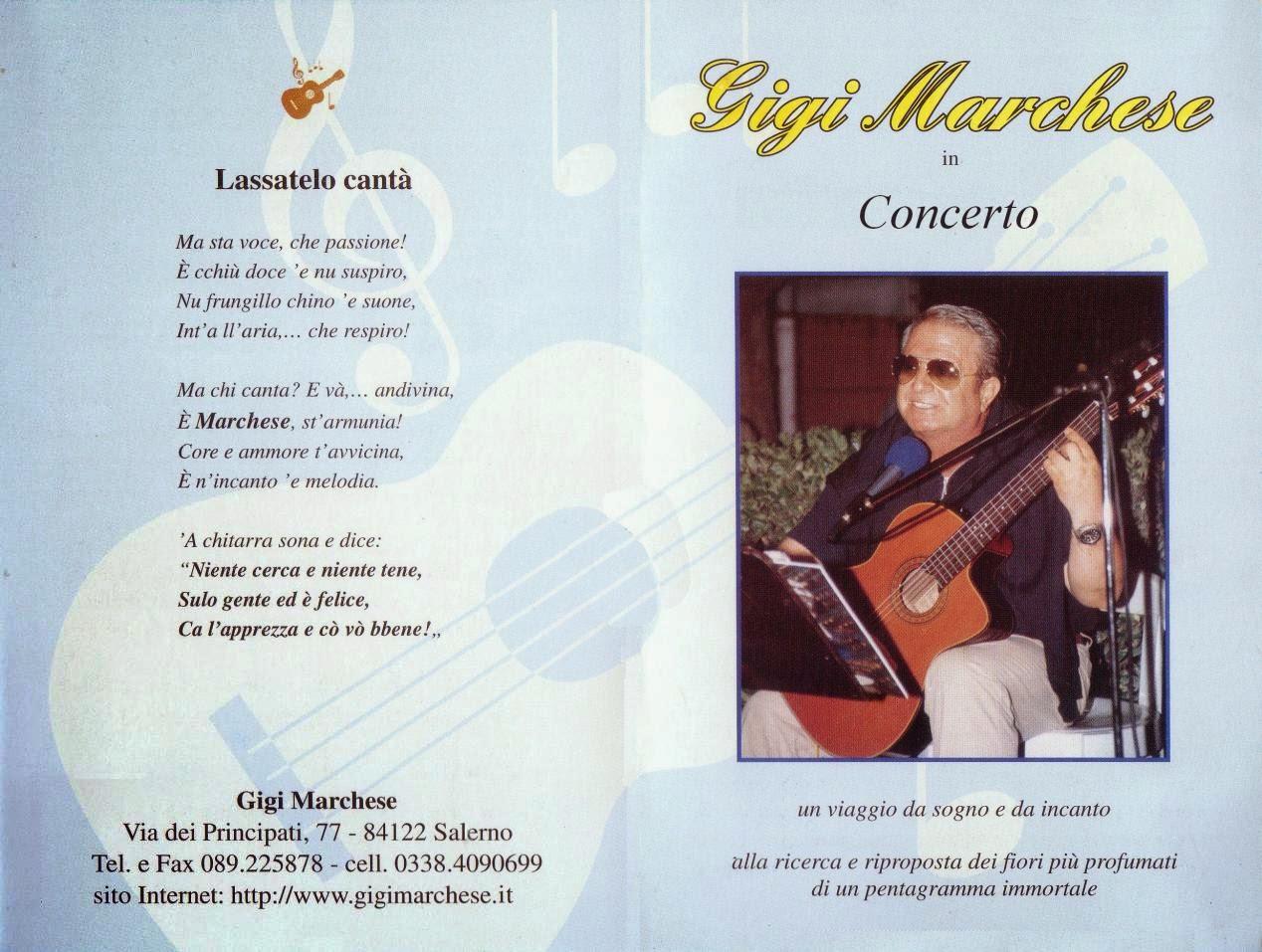 Gigi Marchese in Concerto