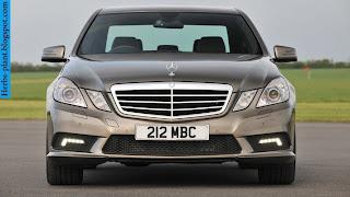 Mercedes e300 front view - صور مرسيدس e300 من الخارج