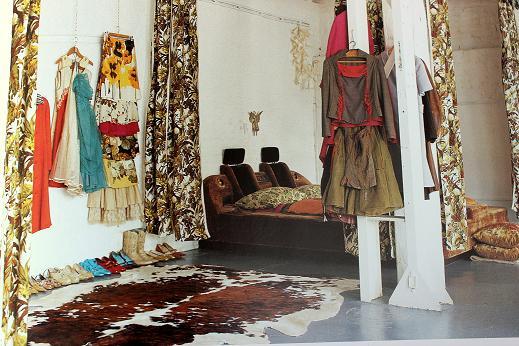 habitacion vintage artistica
