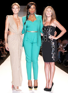 klum hudson garcia mercedes benz new york fashion week spring summer 2013