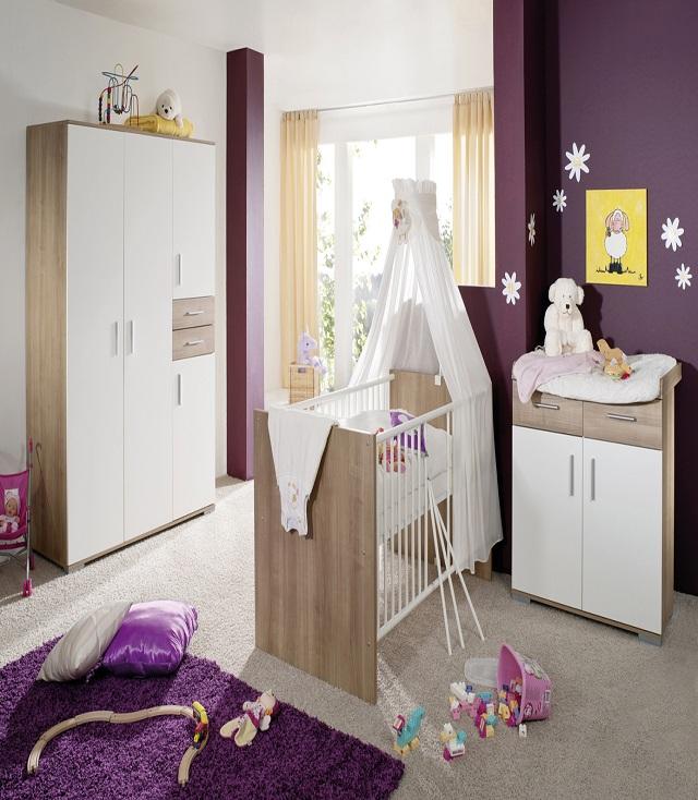 Interieur maison moderne blanc for Belle chambre bebe