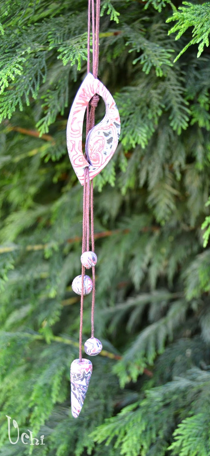 arcilla polimérica, polymer clay, fimo, bisuteria, jewelry, colgante, pendant, collar, necklace