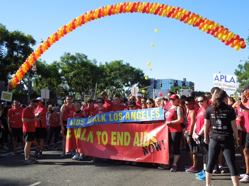 AIDS Walk LA Team to End AIDS