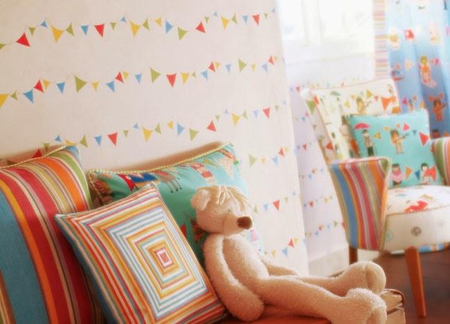 Miss cereza decoraci n papeles pintados - Papel pintado habitaciones ...