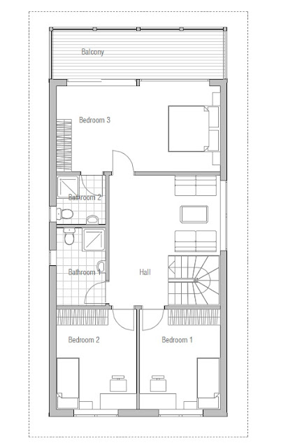 Affordable home plans affordable home ch66 for Affordable house plans