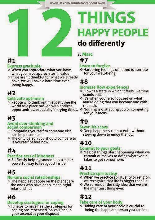 12 Perkara Orang Gembira Buat