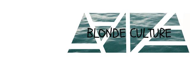 blonde culture