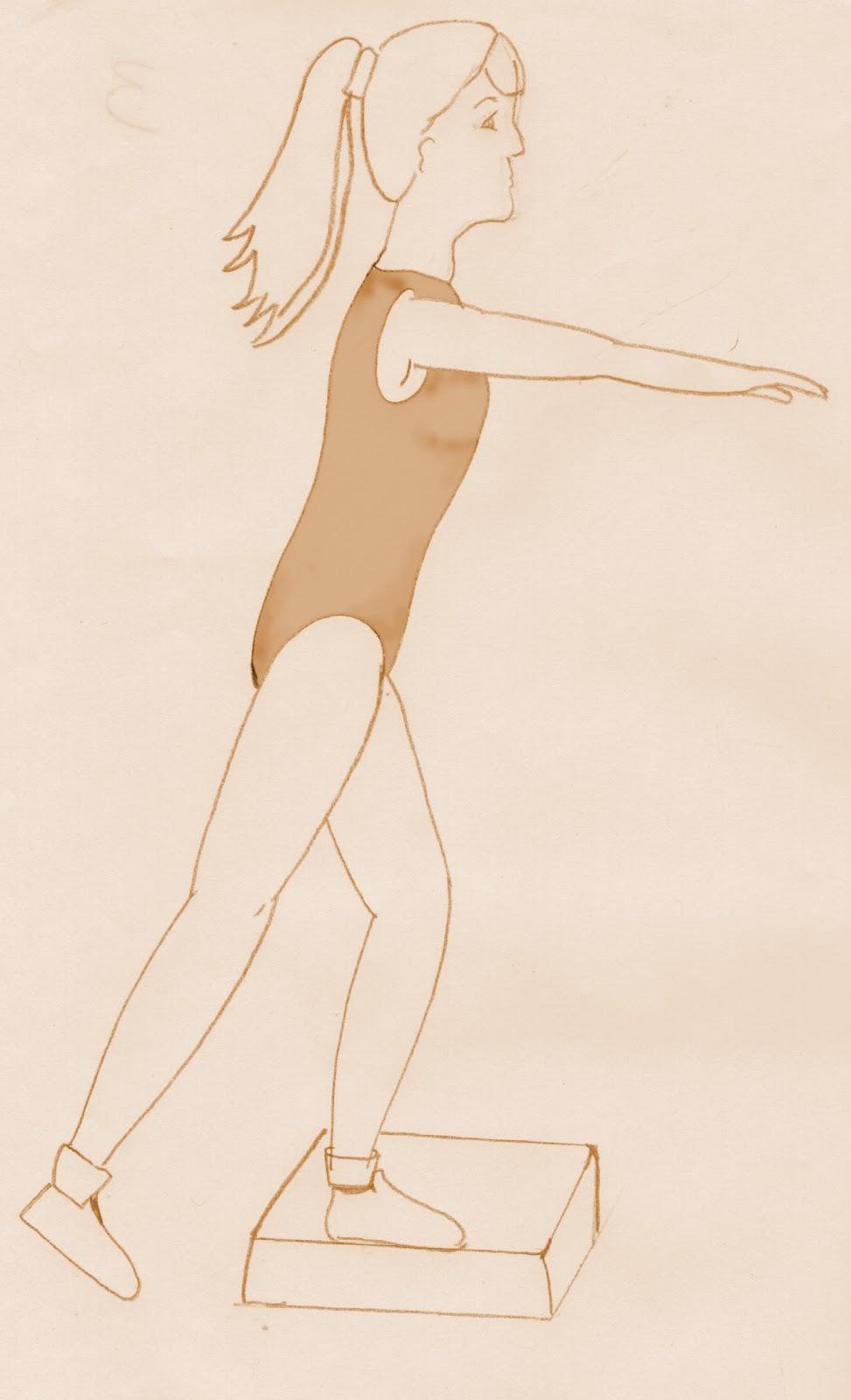 ejercicios para estilizar las piernas: