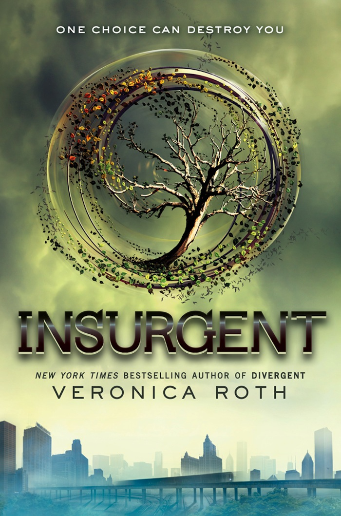 The cover for Divergent book 2, Insurgent! We love it! Click the cover ... Divergent Book Cover Back