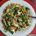 Antipasti Pasta Salad with Kale and Radish