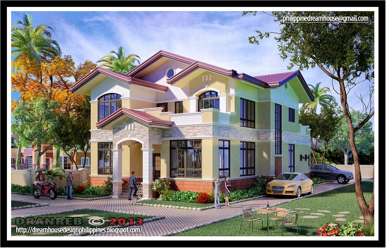 Philippine dream house design two storey house in pangasinan for One storey house philippines