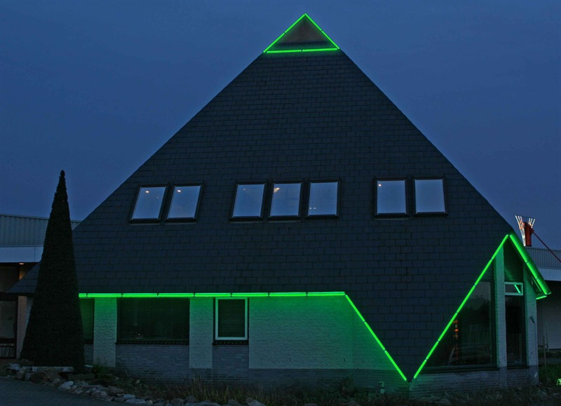 Led verlichting Winkel Eindhoven: LED Borderlight - Gevelverlichting