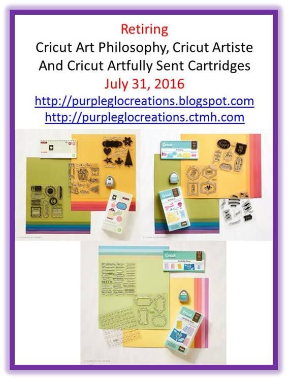 CTMH Cricut Cartridges Retiring July 31st