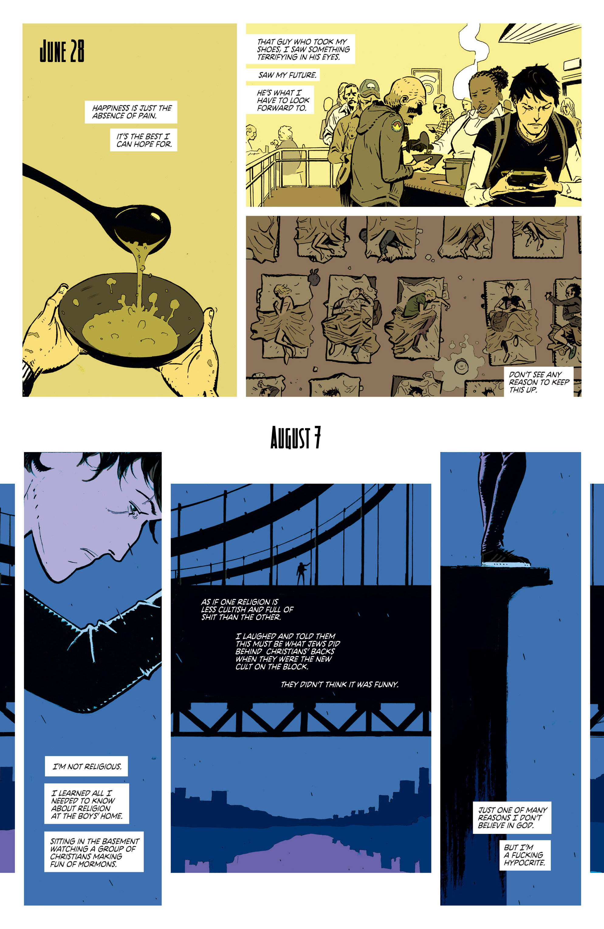 Read online Deadly Class comic -  Issue #1 - 9